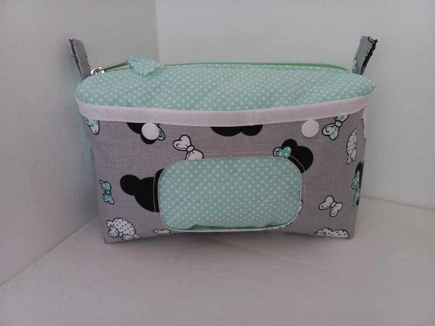 Bolsas para as fraldas/toalhitas do bebé