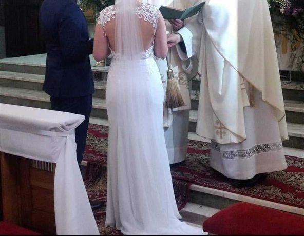 Sprzedam piękną suknię syrenę roz. 36- 38