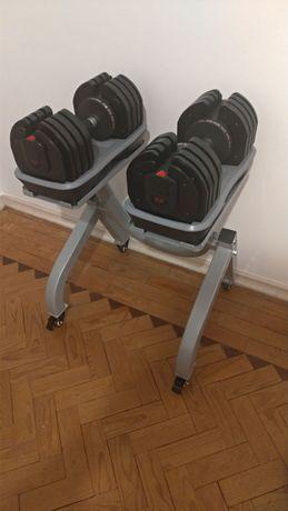 Halteres Ajustáveis 2kg-36kg (Banco VENDIDO)