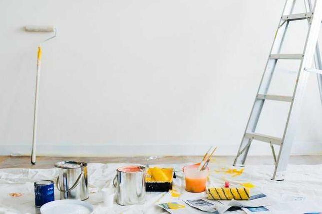 Remonty, malowanie, gipsy, układanie paneli wolne terminy