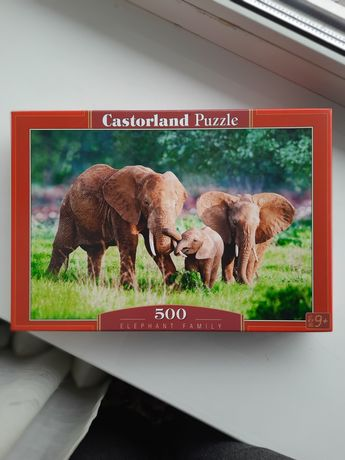 Пазлы Castorland 500 элементов