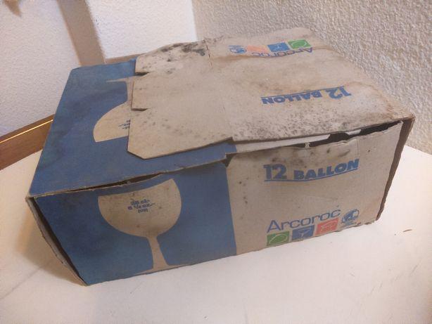 12 Copos 25cl. Pé Balão ARCOROC Nunca Usados