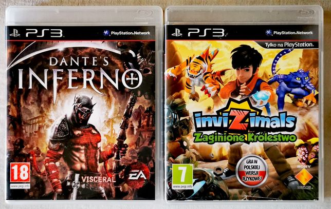 Dante's Inferno Dead Space 2 Devil May Cry 4 PS3 PlayStation 3