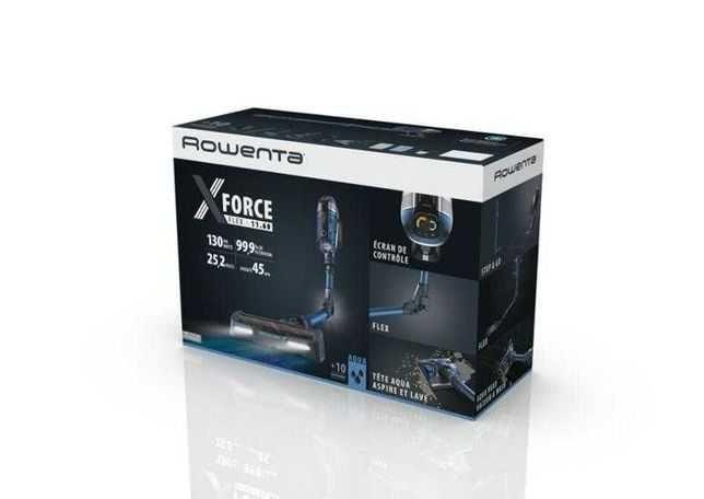 Aspirador Vertical Rowenta X-Force Flex 11.6 Animal Care Aqua RH9890W0