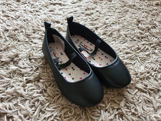 Nowe czarne balerinki/baletki roz. 27