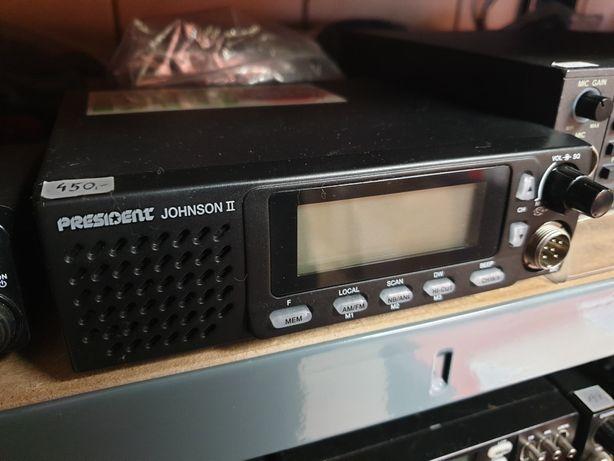 President JOHNSON II - CB Radio do Ciężarówki