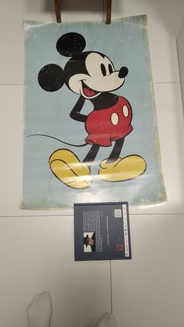 Plakat Mickey retro