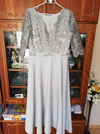 Szara sukienka rozm 44