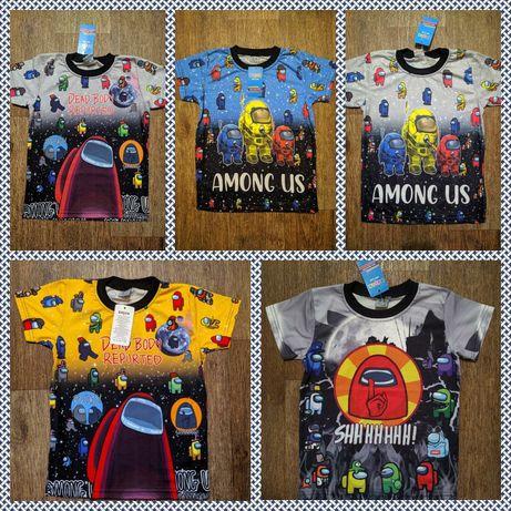 Турецкая футболка для мальчика among us амонг ас
