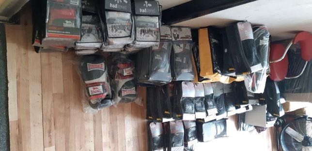 Sprzęt sportowy po likwidacji sklepu (boks,mma - rękawice, owijki itd)