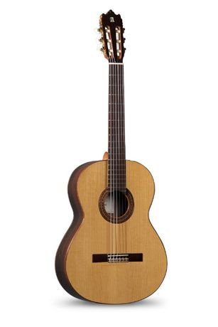 Alhambra Iberia Ziricote Gitara klasyczna 4/4+5kpl strun SAVAREZ