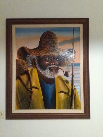 Pintura a Óleo Carlos Moura