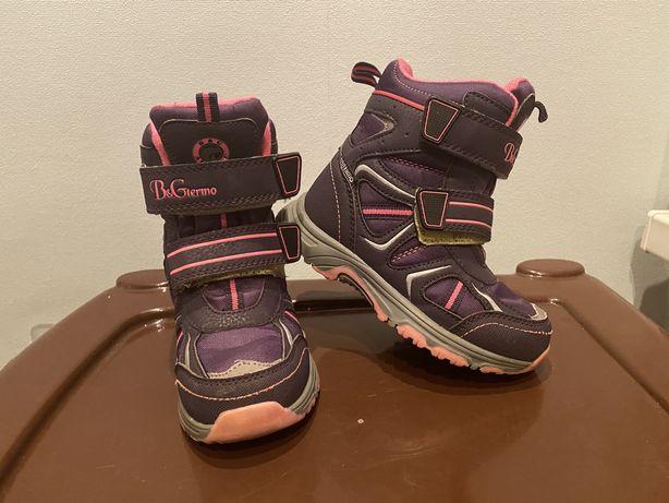 Зимние термо ботинки 26 размер bg termo