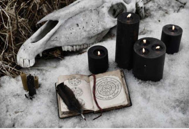 Wiedźma Rytuał Zaklęcia Czary Klątwa