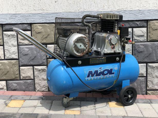 Компресор масляный «Торнадо 360-50» 1.5квт Компресор воздушний MIOL