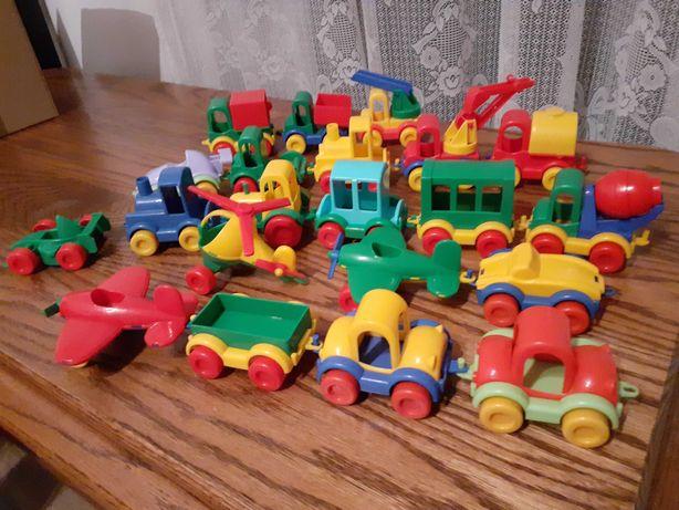 Autka, samochody Wader na zaczep
