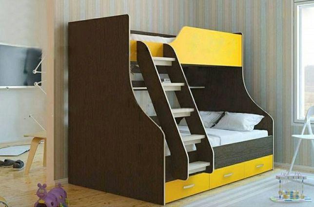 Ліжко кровать двухъярусная