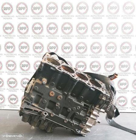 Bloco motor para peças BMW E46 320D 136 CV, cambota, bielas, pistões...