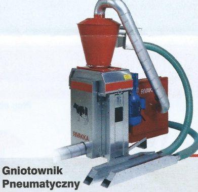 Gniotowniki pn i zasypowe NOWE i używ po kapitalnym remon i śrutowniki