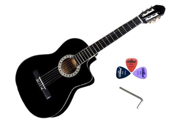 Акустическая гитара BANDES CG-851C BK (4\4)+ Подарок