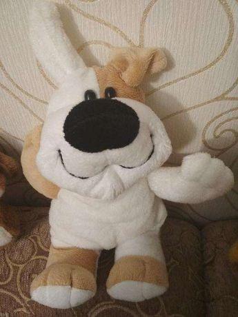 Игрушка мягкая пес собака