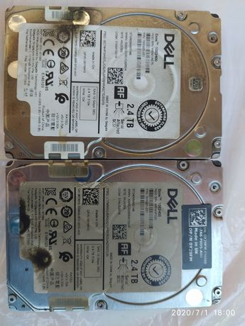 Серверное железо HDD Dell SAS 2400 Gb 10k 12Gbps 512e