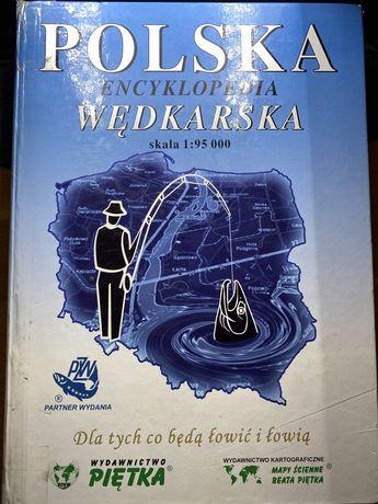 Polska Encyklopedia Wędkarska skala 1:95000
