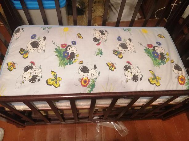 Продам матрасік в дитяче ліжечко