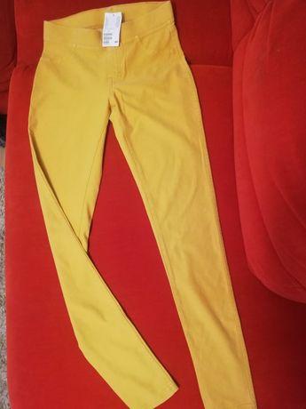 Spodnie dziewczęce H&M r. 170cm
