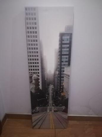 Obraz 44x138 cm ulica miasto