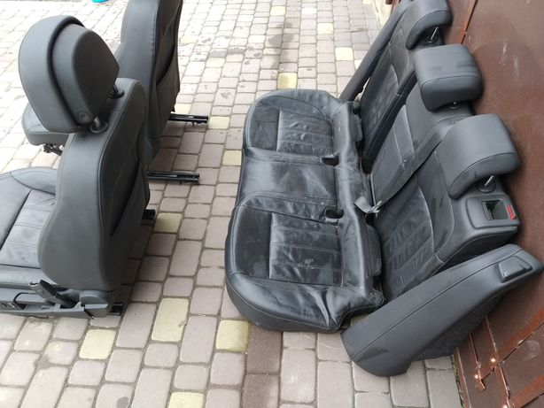 Сидушки сиденья кожаные салон Opel Insignia