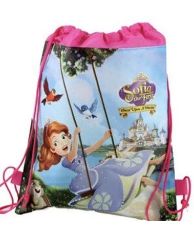 Сумка-мешок/рюкзак для спортивной формы и сменной обуви с принцессой