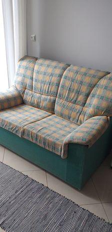 Sofa dois lugares, em tecido