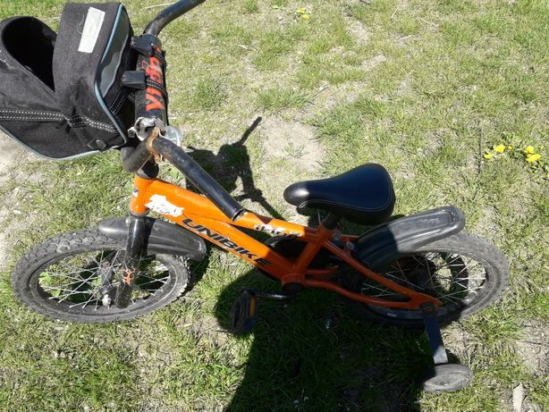Sprzedam rowerek dziecięcy z bocznymi kółkami