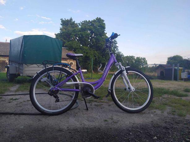 Rower Unibike Princessa Fioletowy