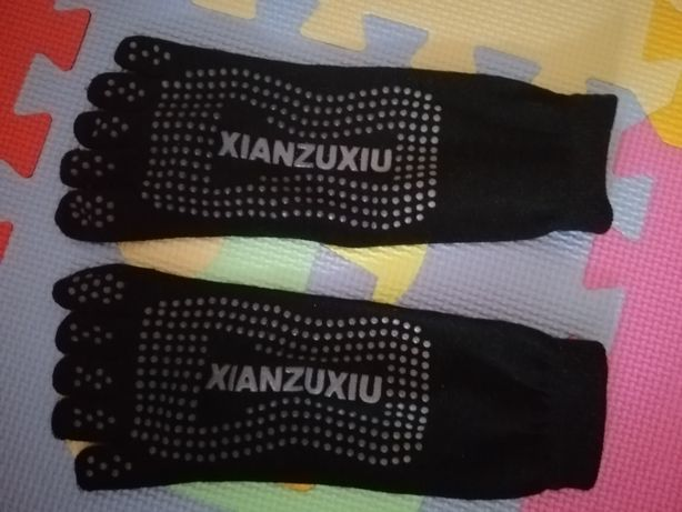 Носки для йоги антискользские Xianzuxiu