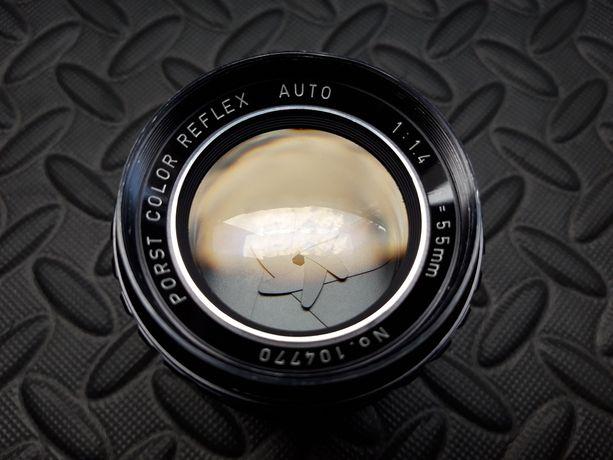 Obiektyw PORST 55 mm 1.4 M42 Sony/Nikon/Canon itd