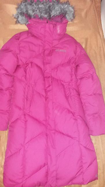 Продам пальто на пуху Columbia на девочку 11-13 лет