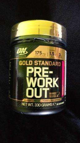 Preworkout  gold nutrition optimum okazja