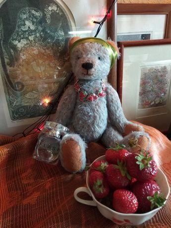 Мишка медведь игрушка Тедди коллекционный под винтажный антикварный
