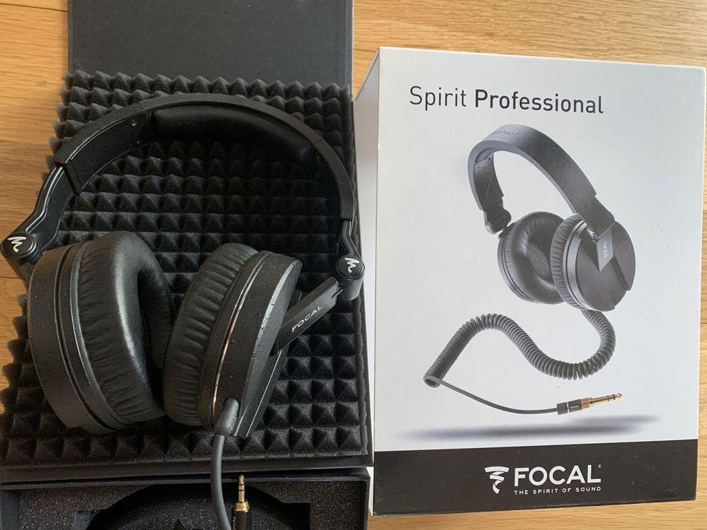 Focal Spirit Professional auscultadores headphones