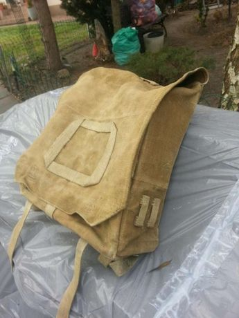 Plecak,tornister,bagnet,szabla,hełm