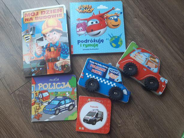 Książeczki dla chłopczyka 6 sztuk!