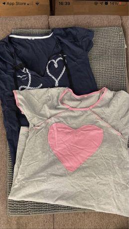 Sprzedam dwie koszule ciążowe.