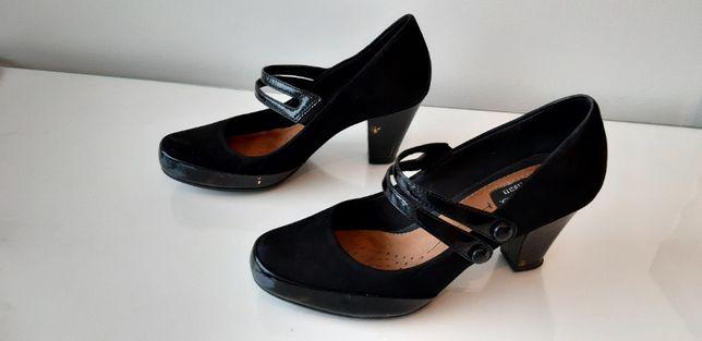 Sapatos pretos CLARKS - 37,5 EU - 7 EUA