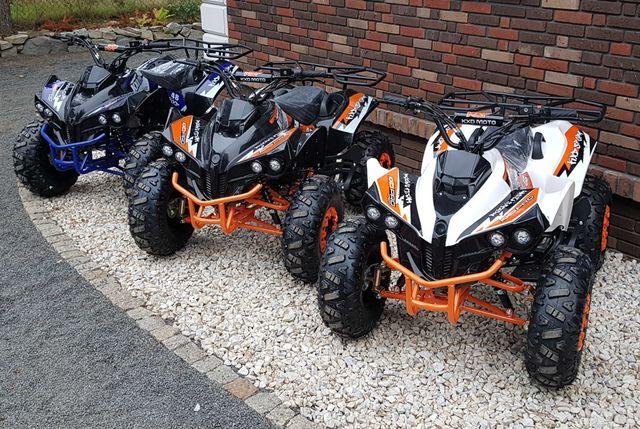Quad 125cc KXD varia 110cc Nowy z Niemiec XXL 8 cali Quady apollo Xtr