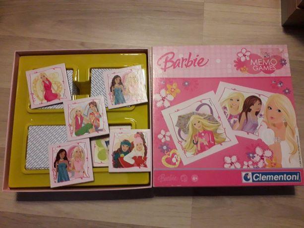 MEMO Barbie gra dla dziewczynek Clementoni