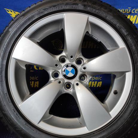 Диски 5x120 R17 ET20 BMW E60 E61 138 стиль з шинами Dunlop