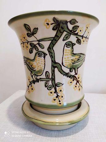 Продам керамический вазон для цветов