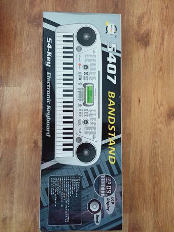 Nowy keyboard srebrny